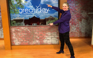 "Carla appears on Great Day Washington highlighting ""Write to Influence!"" and workshops on the college entrance essay."