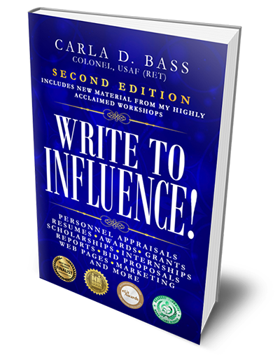 Write to Influence! teaches powerful writing skills that open doors to opportunity for a lifetime