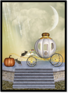 Crystal carriage and pumpkin tell story that powerful writing works magic for fiction, too